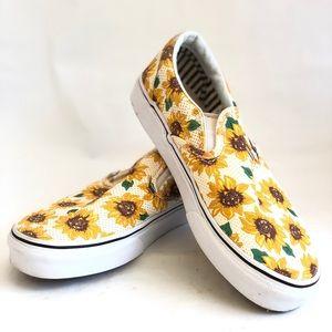 Vans Classic Sunflower Slip-On